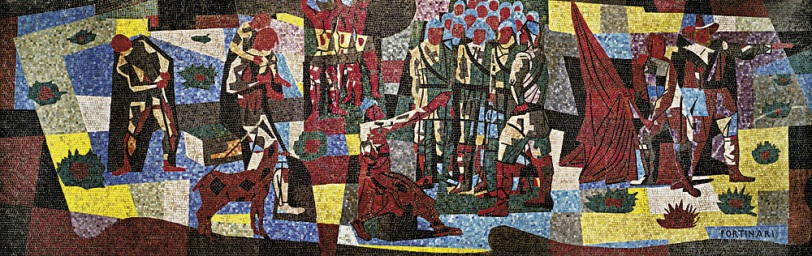 Portinari Bandeirantes Mosaico